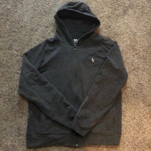 Polo Sport Full Zip Hooded Sweatshirt